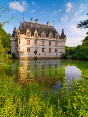 Loire Valley「France, Loire Valley, Chateau Azay le Rideau」:スマホ壁紙(4)