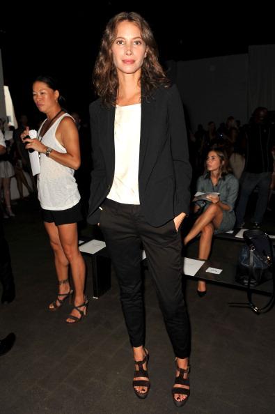Brown Shoe「Rag & Bone Women's Collection - Front Row- Spring 2013 Mercedes-Benz Fashion Week」:写真・画像(12)[壁紙.com]