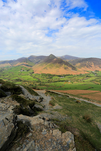 自然の景観「Summer, The Newlands valley, Lake District National Park, Cumbria」:スマホ壁紙(13)