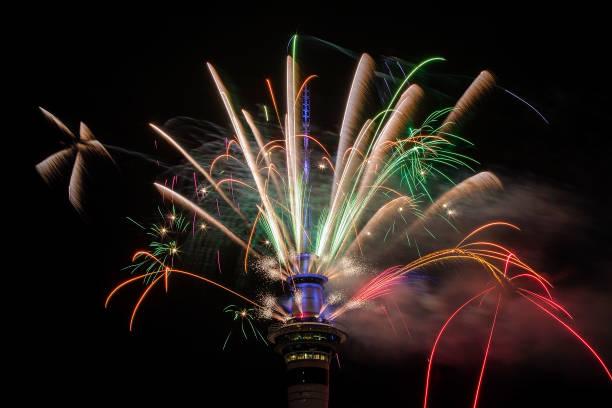 New Zealanders Celebrate New Year's Eve 2017:ニュース(壁紙.com)