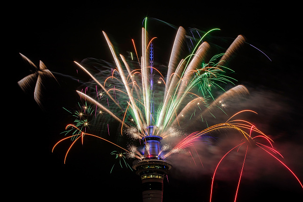 New Year「New Zealanders Celebrate New Year's Eve 2017」:写真・画像(16)[壁紙.com]