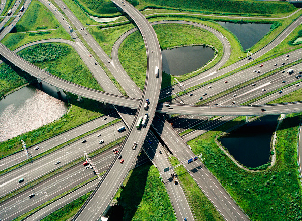 Netherlands「Ridderkerk near Rotterdam Connecting Rotterdam via the A15 and A16 motorways with Germany and Belgium」:写真・画像(4)[壁紙.com]