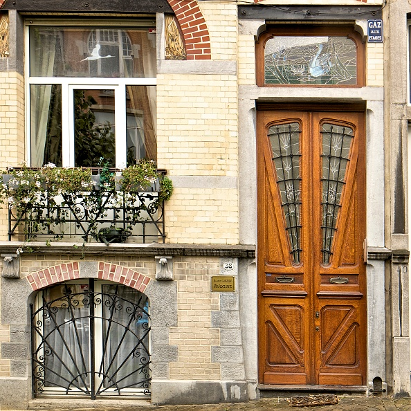 Townhouse「Miscellaneous Brussels Art Nouveau Details」:写真・画像(2)[壁紙.com]