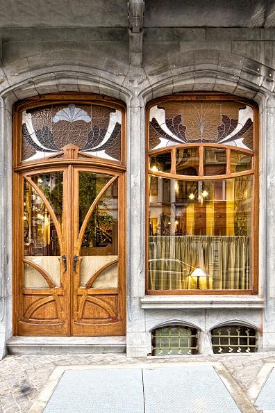 Glass - Material「Miscellaneous Brussels Art Nouveau Details」:写真・画像(3)[壁紙.com]