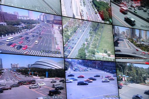 Video Still「Road traffic monitor screen」:スマホ壁紙(17)