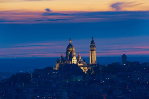 Cathedral「France, Paris, Montmartre and Sacre Coeur」:スマホ壁紙(19)