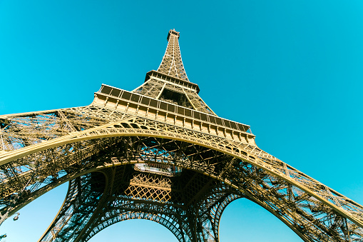 19th Century「France, Paris, Eiffel Tower」:スマホ壁紙(1)