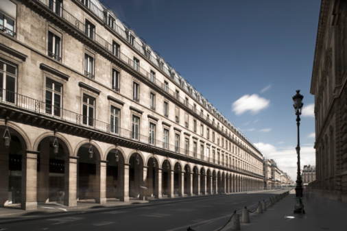 Europe「France, Paris, Rue de Rivoli」:スマホ壁紙(6)
