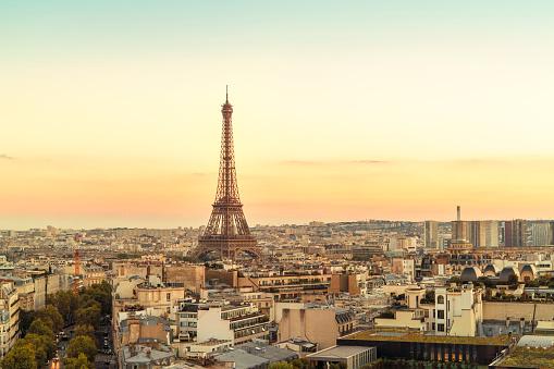 France「France, Paris, view to Eiffel Tower」:スマホ壁紙(4)