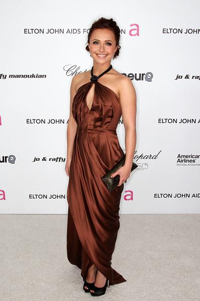 Bronze Colored「18th Annual Elton John AIDS Foundation's Oscar Viewing Party - Arrivals」:写真・画像(17)[壁紙.com]