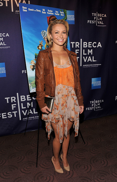 "Leather Jacket「Premiere of ""Hoodwinked Too"" At The 2011 Tribeca Film Festival」:写真・画像(19)[壁紙.com]"