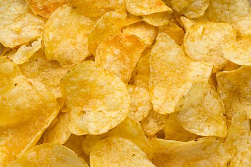 Potato Chip「Pile of potato chips」:スマホ壁紙(11)