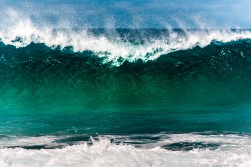 Pacific Ocean「Breaking wave at North Shore」:スマホ壁紙(12)