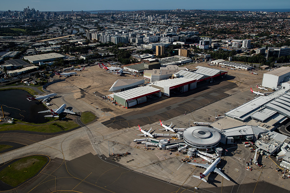 Aircraft Point of View「Aerial Views Of Sydney As Australia Sees Steady Decline In New Coronavirus Cases」:写真・画像(9)[壁紙.com]