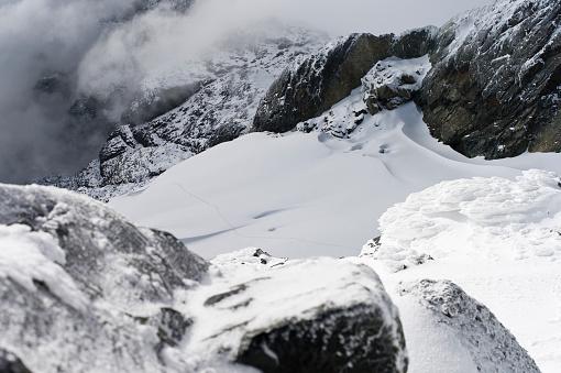 コンゴ民主共和国「View from Margherita Peak, Mount Stanley, Kilembe Route, Rwenzori National Park, Kasese District, Uganda」:スマホ壁紙(14)
