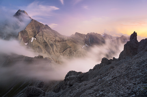 Lech Valley「view from mt. parseierspitze」:スマホ壁紙(18)