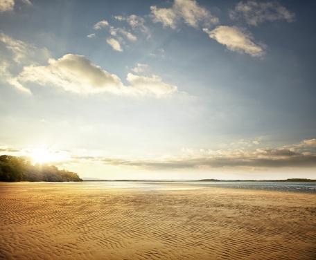 Sunset sea「Ocean Inlet」:スマホ壁紙(16)