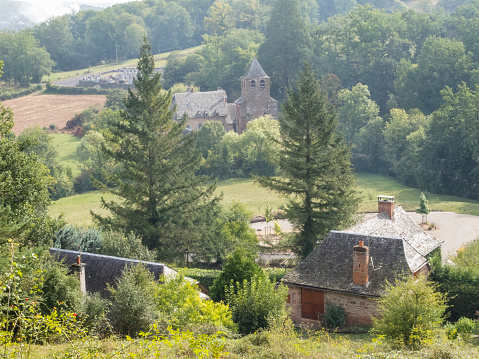 Camino De Santiago「The Way of Saint James following the GR65 in France from Les Faux to Conques」:スマホ壁紙(13)
