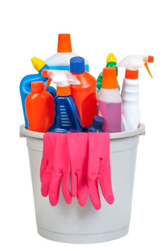 Bottle「Bucket of cleaning equipment」:スマホ壁紙(18)