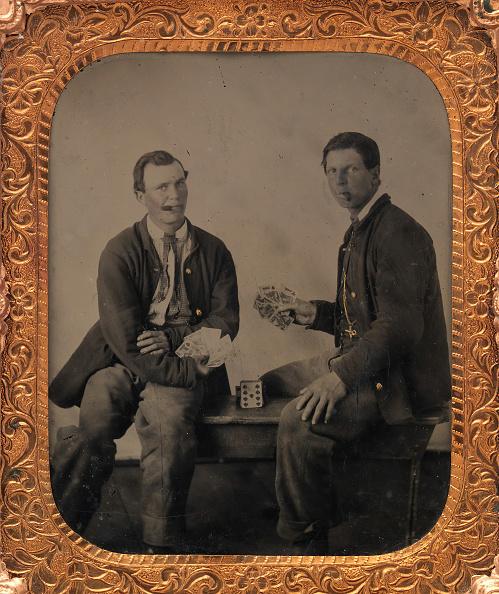 Bench「Union Soldiers Sitting On Bench」:写真・画像(17)[壁紙.com]