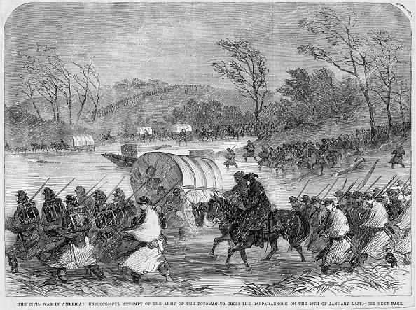 Pouring「Mud March 1863」:写真・画像(1)[壁紙.com]