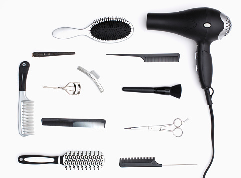 ファッション・コスメ「Collage of hair care products」:スマホ壁紙(18)