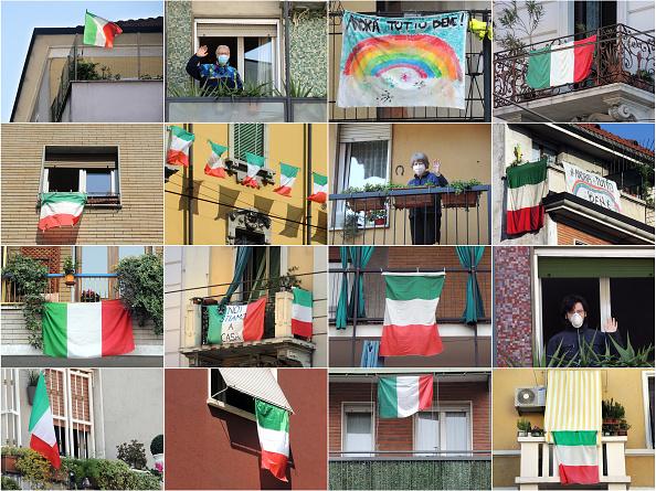 Balcony「The Lockdown Time In Italy」:写真・画像(12)[壁紙.com]