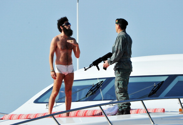 "Nice - France「""THE DICTATOR"" Cannes Sighting - 65th Annual Cannes Film Festival」:写真・画像(14)[壁紙.com]"