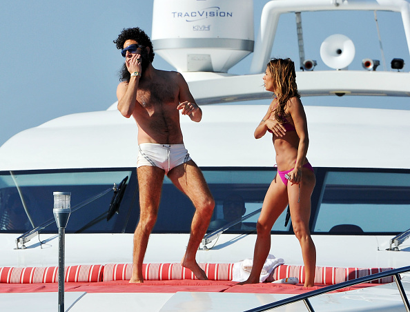"Nice - France「""THE DICTATOR"" Cannes Sighting - 65th Annual Cannes Film Festival」:写真・画像(12)[壁紙.com]"