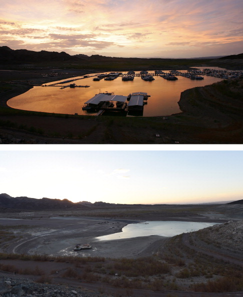 Composite Image「Before And After: Lake Mead And The Drought」:写真・画像(19)[壁紙.com]