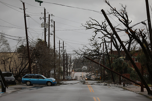 Hurricane - Storm「Hurricane Michael Slams Into Florida's Panhandle Region」:写真・画像(15)[壁紙.com]