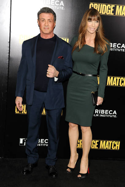 """""""Grudge Match"""" Screening Benefiting The Tribeca Film Insititute - Outside Arrivals:ニュース(壁紙.com)"""