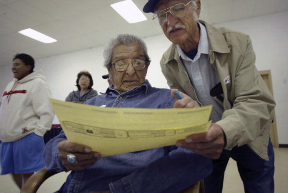 Rick Scibelli「New Mexico Voters Go To The Polls」:写真・画像(5)[壁紙.com]