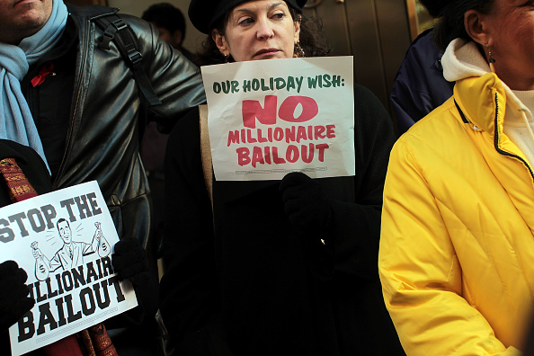 Economy「Activists Hold Anti-Bailout Rally In Front Of Sen. Schumer's Office」:写真・画像(17)[壁紙.com]