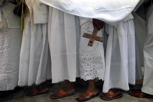 Religion「People Crown New Voodoo Priests In Port-Au-Prince」:写真・画像(16)[壁紙.com]