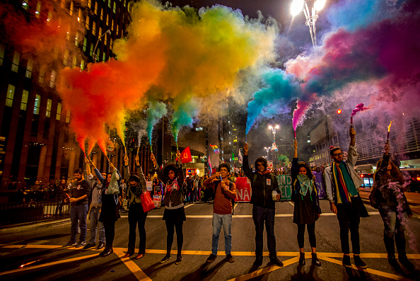 Mass Shooting「Gay Rights Group Holds March In Support Of Orlando Attack Victims」:写真・画像(18)[壁紙.com]