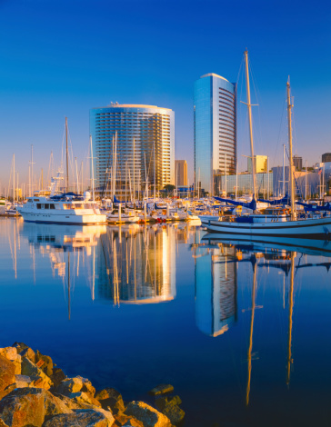 San Diego County「San Diego Skyline, California」:スマホ壁紙(8)