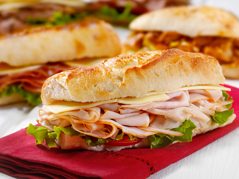 Tall - High「Turkey and Cheese Sandwich on a Ciabatta Bread」:スマホ壁紙(11)
