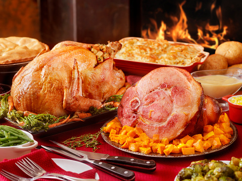 Buffet「Turkey and Ham Dinner with Stuffing and All the Fixings」:スマホ壁紙(15)