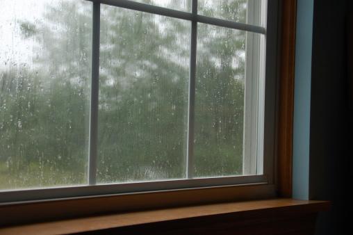雨「雨のウィンドウ」:スマホ壁紙(10)