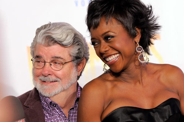"""George Lucas「Opening Night Of """"Dreamgirls"""" - Arrivals And Curtain Call」:写真・画像(9)[壁紙.com]"""