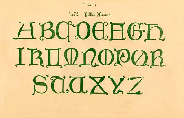 Alphabet「1475 British Museum」:写真・画像(14)[壁紙.com]