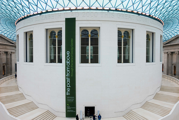 Finance and Economy「British Museum, Great Court, London Hidden from public view since 1857 The Great Court allows visitors to move freely around the Main floor for the first time in 150 years Two monumental staircases encircle the drum of the Reading Room Architect, Foster」:写真・画像(16)[壁紙.com]