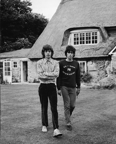 Keith Richards - Musician「Mick & Keith In The Country」:写真・画像(4)[壁紙.com]