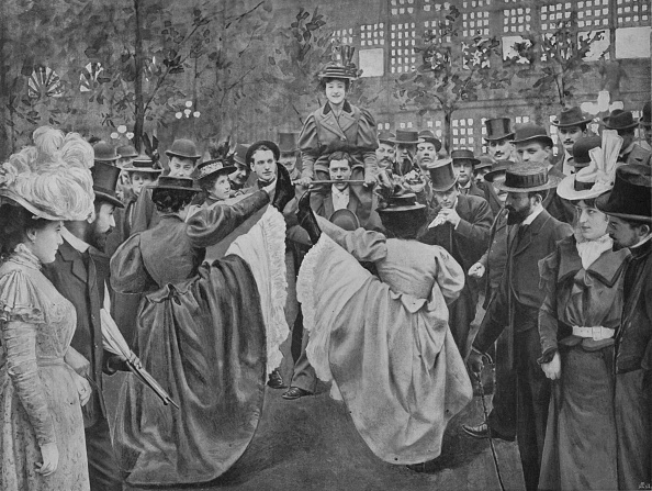 1900-1909「Dans Le Jardin Du Moulin-Rouge」:写真・画像(3)[壁紙.com]