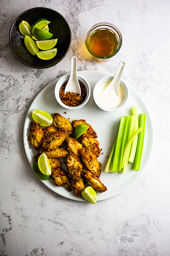 Celery「Spicy chicken wings with lime and celery」:スマホ壁紙(13)