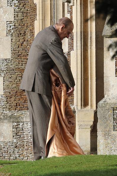 King's Lynn「The Royal Family Attend Church On Christmas Day」:写真・画像(1)[壁紙.com]