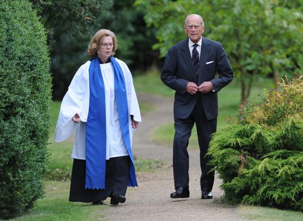 King's Lynn「The Duke Of Edinburgh Attends A Service Of Commemoration At Sandringham Church」:写真・画像(3)[壁紙.com]