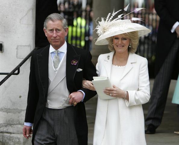 Married「HRH Prince Charles & Mrs Camilla Parker Bowles Marry At Guildhall Civil Cer」:写真・画像(6)[壁紙.com]