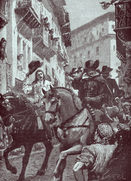 文化「Prince Charles arrives in Madrid, 1623」:写真・画像(9)[壁紙.com]